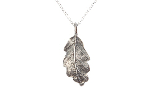 Oak Leaf Pendant, small.