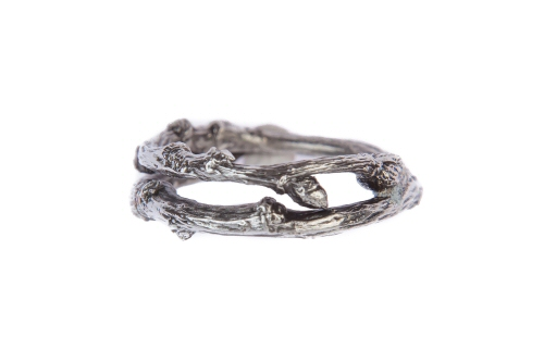 Twig wrap band ring.