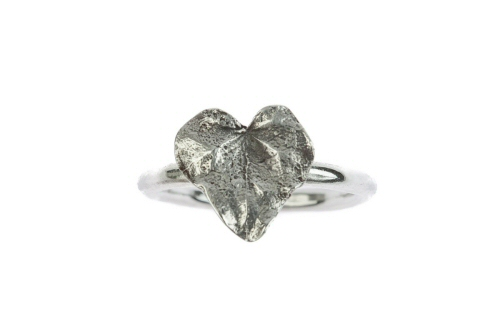Ivy leaf ring.