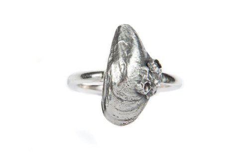 Mussel Shell Ring.